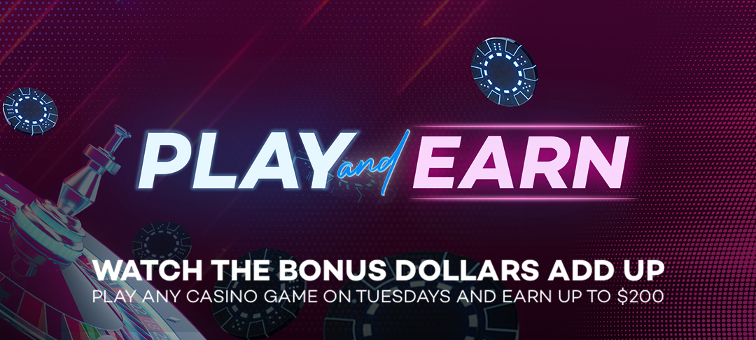You could earn up to $200 extra Bonus Dollars today!